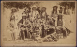 Arrapahoe [sic] Indian Chiefs Fort Washakie