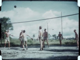 USMC 100535: General Geiger Plays Volleyball