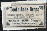 Tooth-Ache Drops