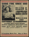 Going fine since 1889: Ellen E. Armstrong magician and cartoonist extraodinary