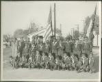 African American boyscout troop photo