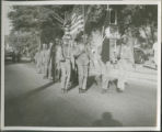 African American boyscout troop on parade