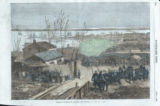"""Arrival at Charleston of Volunteers from Louisiana"""