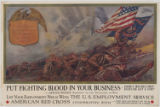 """Put fighting blood in your business [graphic] : here's his record! : does he get the..."