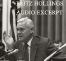 Audio of Hollings talking about campaign finance reform