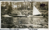 E. Taylor, the Canoe [and] the Katie [boat], Picnic [on the] Metedeconk [River], Bay Head [N.J.],...