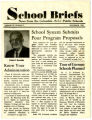 A copy of School Briefs: News from the Columbia (S.C.) Public School, Vol. 10, No. 3.