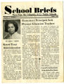 A copy of School Briefs: News from the Columbia (S.C.) Public School, Vol. 13, No. 7, featuring...
