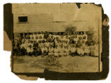A group photo with the entire Cunningham family present. A possible photo of the tenants from the...