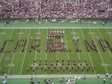 Another view of Carolina, as spelled out by Carolina Bandsmen
