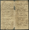 Sermon Notes, 1755 July 13, page 1