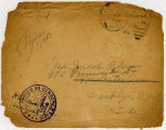 1918-08-26; Letter, From Samuel Bloom (France), To Folks [Parents] (Brooklyn, NY), Envelope