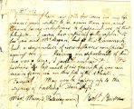 Letter, 1786 Aug. 19, New Cumnock to Monsr. Thomas Campbell, Pencloe.
