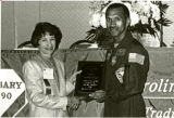 Astronaut Charles Bolden at the South Carolina Library Association conference, October 1990