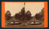 [View of fountain in middle of street]