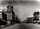 Columbia's Town Hall and Opera House (with cupola), NW Corner Main at Washington Street